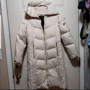 Michael kors puffy long coat